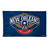 WinCraft NBA New Orleans Pelicans Flag,blue,3'x5'