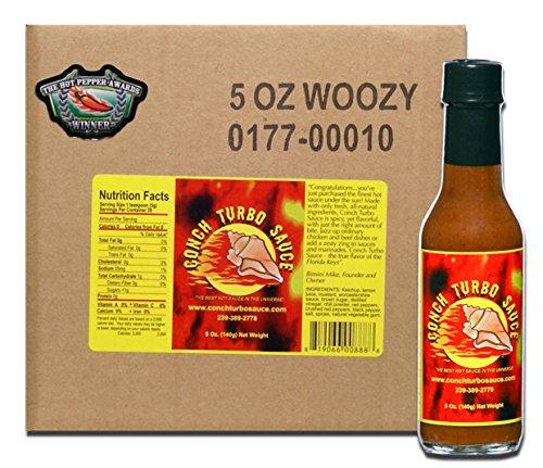 Conch Turbo Original Recipe Sauce - Case of 5 oz.