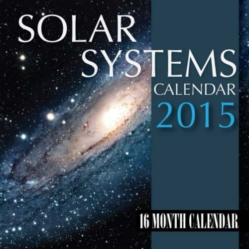 Download Solar System Calendar 2015: 16 Month Calendar pdf