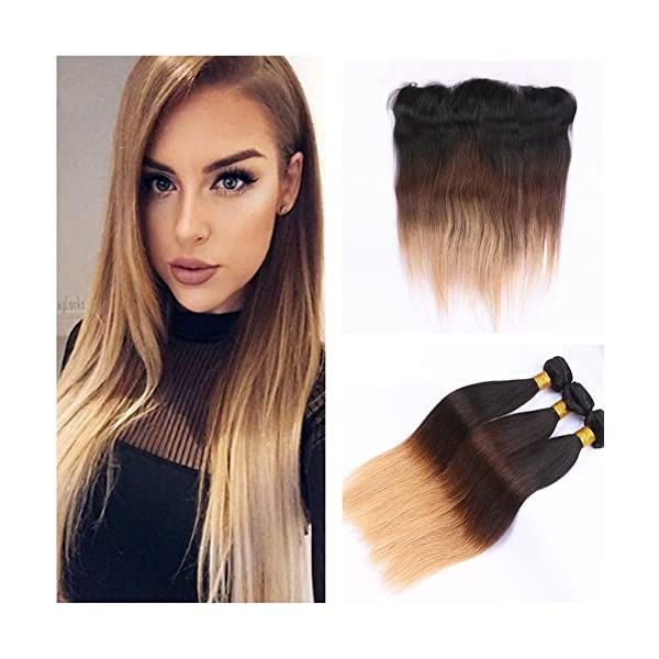Ruma Hair Hot Selling 1b427 Silky Straight 13x4 Lace Frontal