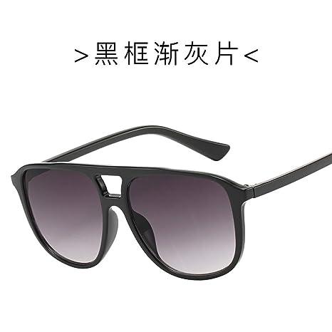 Yangjing-hl Gafas de Sol Masculinas versión Coreana de la ...