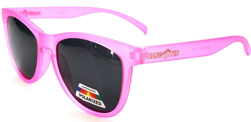 Aloha Kids Hang Ten Sports Polarized Toddler Girls Retro Square Sunglasses Age 2-5