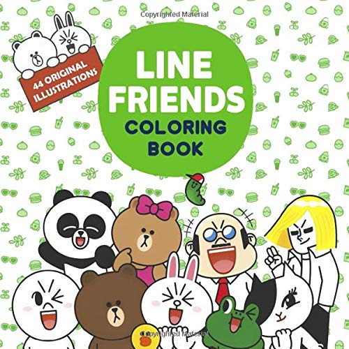 Line Friends Coloring Book: Line Friends Coloring Pages For Everyone,  Adults, Teenagers, Tweens, Older Kids, Boys, & Girls, Practice For  Stress Relief & Relaxation: Kim, Emily G.: 9781699422731: Amazon.com: Books