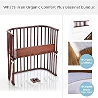 babybay Bassinet Organic Comfort Plus Bundle in Deep Walnut