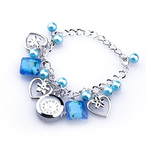 buyeonline-women-blue-acrylic-beads-quartz-round-dial-bracelet-pendants-wrist-watch