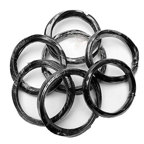 Coaching Wire Bonsai Aluminum Roll Set Bonsai Instruments 1.0~4.Zero Mm Diameter 7 Rolls