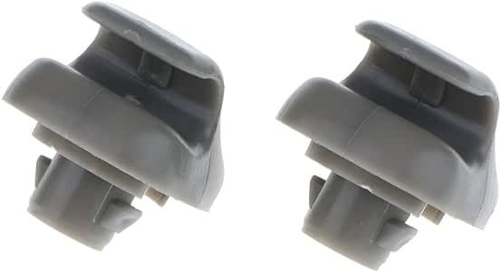 2x Sun Visor Hook Clips for Honda Accord Civic CRV 1998-2011