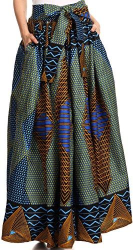 long african print dresses - 9