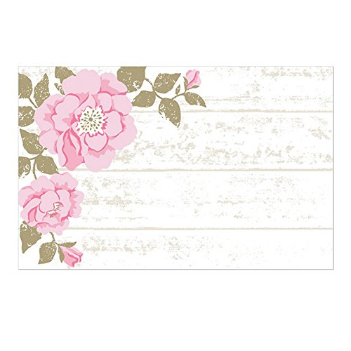 (Cottage Rose Enclosure Cards / Gift Tags - 3 1/2 x 2 1/4)