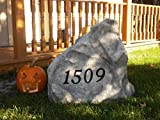 Address Stone - Regular Size - 20'' x 20'' x 10'' - artificial