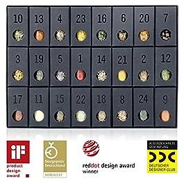 Gewürz-Adventskalender – Kalender mit 24 edlen Gewürzen und Rezepten