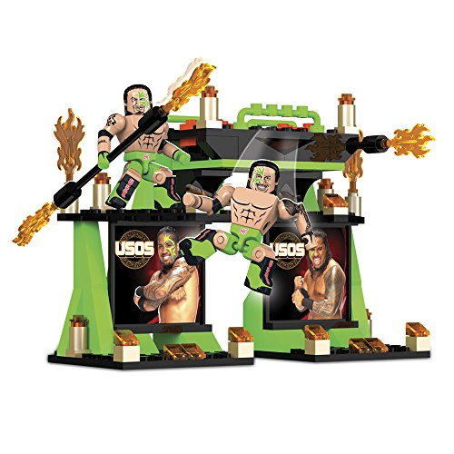 The Bridge Direct WWE Stack Down Tag Team Sets: The Usos by The Bridge Direct