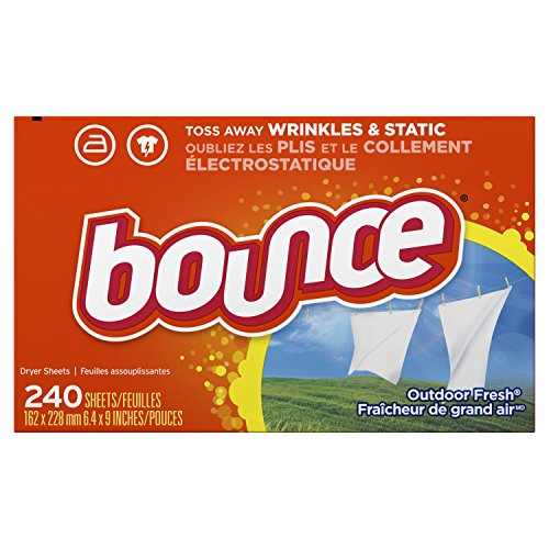 Bounce Outdoor Fresh Fabric Softener and Dryer Sheets, 240 Count