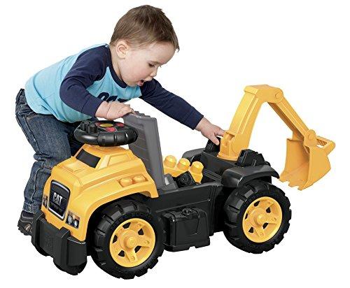 513biHp%2BSAL - Mega Bloks Ride On Caterpillar with Excavator