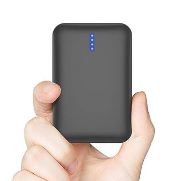 Luvfun Batería Externa Movil, 10000mAh Cargador Portátil Movil Carga Rápida Power Bank con Puertos Dobles USB Powerbank para iPhone, Samsung, Huawei, ...