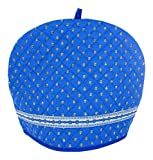Provence Tea Cozy - Blue - 12 1/2'' X 9 1/2'' - Made in France