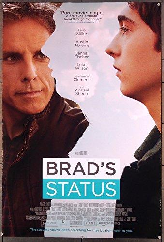 Brad's Status (2017) Original U.S. One-Sheet Movie Poster 27x40 BEN STILLER AUSTIN ABRAMS MICHAEL SHEEN LUKE WILSON Film Directed by MIKE - Status Us