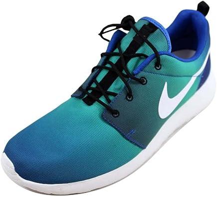 Mens Nike Roshe One Print Gradient Ocean Zen Game Royal White Retro 655206-414 US 10.5