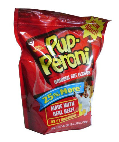 513bjP0nYrL - Pup-Peroni Original Beef Flavor Dog Snacks, 40-Ounce
