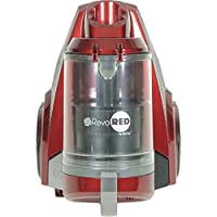 Artix - AHC-RR Revo Red Bagless HEPA Certified Bagless Canister Vacuum