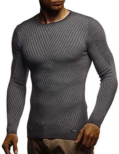 Anthrazit Uomo shirt Tinta Leif Lunga Unita T Nelson Manica AZn78