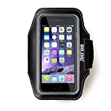 MarlJohns SPORTY Armband For iPhone 6s Plus (5.5-Inch)[Lifetime Warranty] Water/Sweat Proof + Card Holder