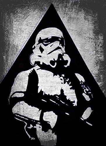 Star Wars Print, Stormtrooper, The last Jedi, Rogue One, Empire, Star Wars FanPrint, Stormtrooper, Star Wars, Movie Poster, Living Room Decor, Kids Decor, Modern Home Decor, Wall Art, ready to hang]()