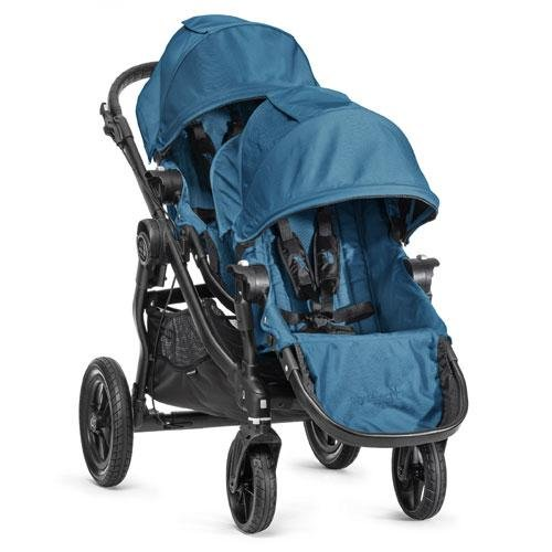 Baby-Jogger-2014-City-Select-Stroller-WITH-Second-Seat-Teal