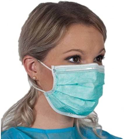 3m 50707387256031 1820 ear loop procedure face mask
