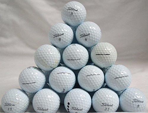 48 Titleist ProV1 Mixed High Numbers 4A Golf Balls