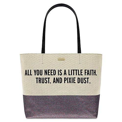 Peter Pan Canvas Glitter Tote Bag by kate spade new york ()