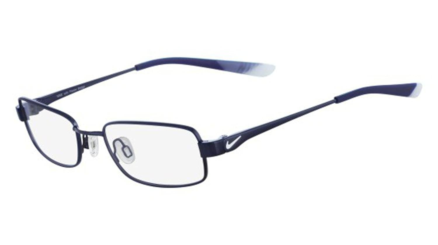 9e348f9bd7b4 Amazon.com: Eyeglasses NIKE 4637 427 BLUE/PURE PLATINUM: Shoes