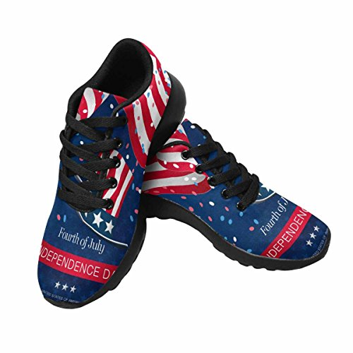 July Day Jogging Fourth Sneaker of Women's 1 Multi InterestPrint Running Independence 8SqPPY
