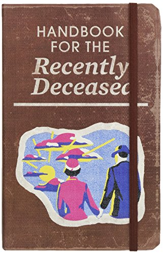 Beetlejuice: Handbook for the Recently Deceased Hardcover Ruled Journal ()
