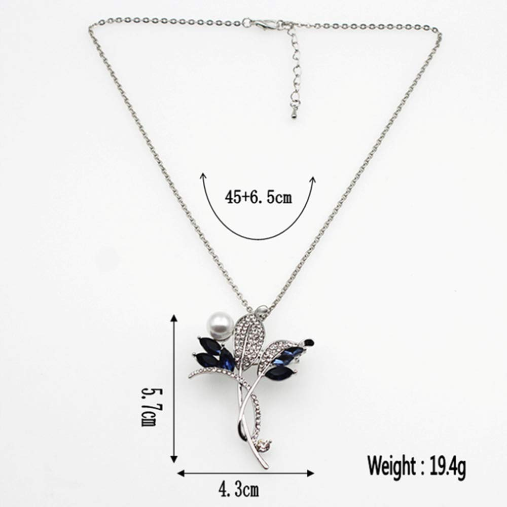 cushang Mens Pendant Women Necklac Creative Corsage Hundred-Match bee Brooch Alloy Chain Dual-use Necklace Jewelry