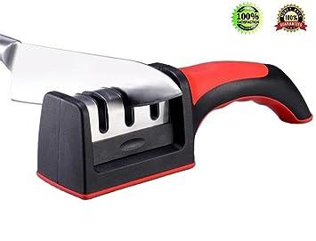 Afilador de cuchillos de cocina, afilador para cuchillo ...