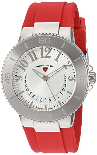 Swiss Legend Women's 11315SM-02-RDS Riviera Analog Display Swiss Quartz Red Watch