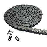 Aobbmok 5 Feet 06C 35 Roller Chain with 1 Connecting Link For Go Kart, Mini Bike Chain Replacements