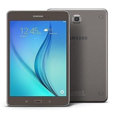 "Samsung Galaxy Tab A 8.0"" 16GB (Wi-Fi), Smoky Titanium (Certified Refurbished)"