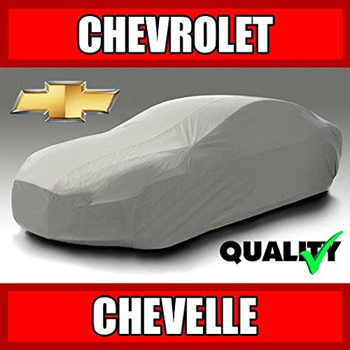 autopartsmarket Chevy Chevelle 2-Door 1970 1971 1972 Ultimate Waterproof Custom-Fit Car Cover (1970 Chevy)