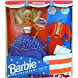 Barbie For President Gift Set - Toys R Us Limited Edition Doll - 1991 Mattel