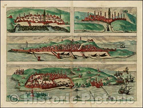 ca50931c6aeff Historic Map | Anfa, Quibusdam Anaffa, Azzaamurum, Diiv, Goa fortissima  Indiae urbs, Anfa, Some Anaffa, Azzaamurum, Diiv, Goa, India, 1572 |  Vintage ...