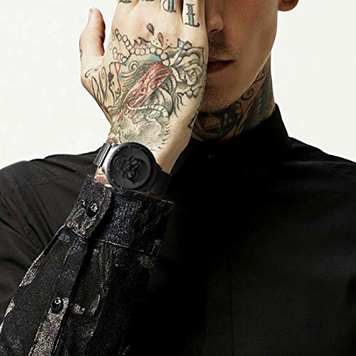 Mens-Black-Big-Face-Watches-Men-30M-Waterproof-Large-Luxury-Casual-Stainless-Steel-Mesh-Watch-for-Men