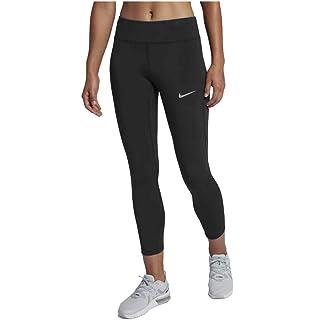 4f24e2c24e990d Amazon.com : NIKE Women's Power Epic Lux Crop Mesh Compression Pants ...