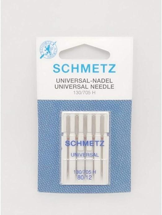 Agujas para máquina de coser Schmetz universal 80-12 130-705 h ...