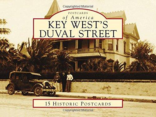 Key West's Duval Street (Postcards of America)