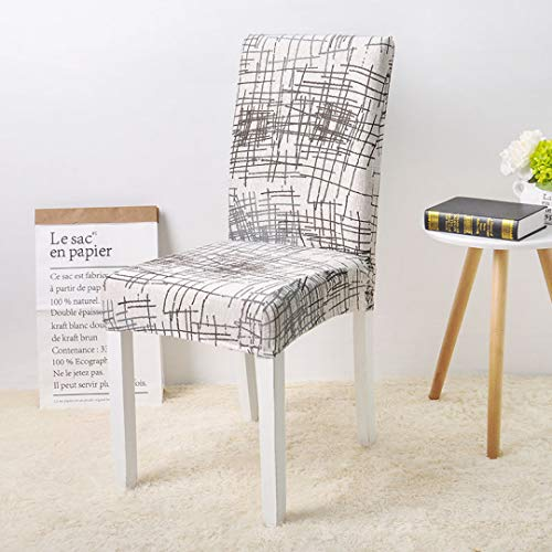 SGHOME Chair Covers Spandex Elastic Anti-Dirty for Weddings Banquet Party Dining Room Kitchen Home Decoration Seat Case ()