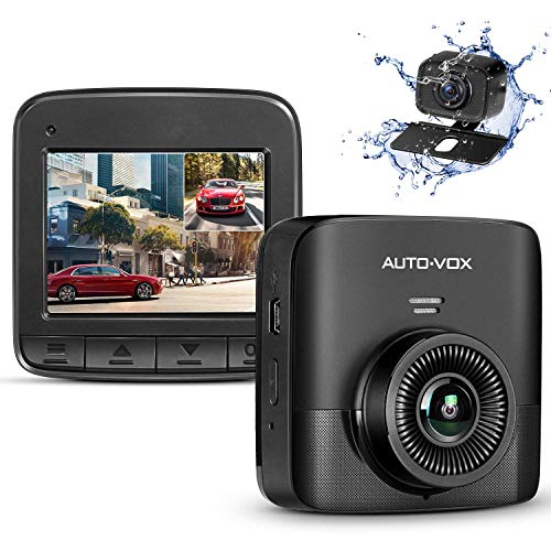 AUTO-VOX D5PRO Dual Dash Cam Front and Rear Now $50.99 (Was $99.99)
