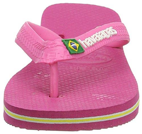 Rose Brasil Unisex Havaianas LogoInfradito Rosaorchid 2655 bambini kXiuZP