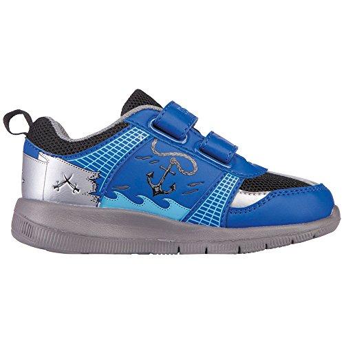 Kappa Pirate, Zapatillas para Niños Azul (Blue/black)